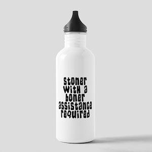 Funny Stoner Stainless Water Bottle 1.0L