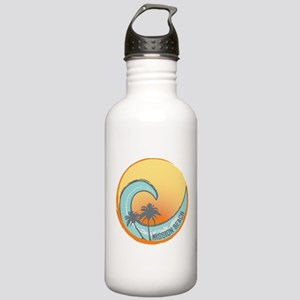 Mission Beach Sunset Crest Stainless Water Bottle