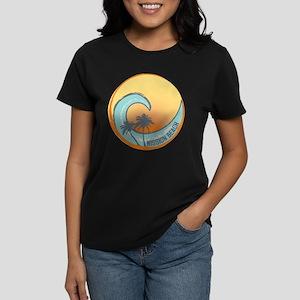 Mission Beach Sunset Crest Women's Dark T-Shirt