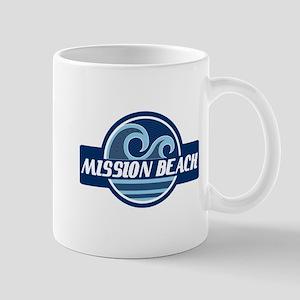Mission Beach Surfer Pride Mug