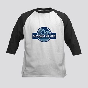 Mission Beach Surfer Pride Kids Baseball Jersey
