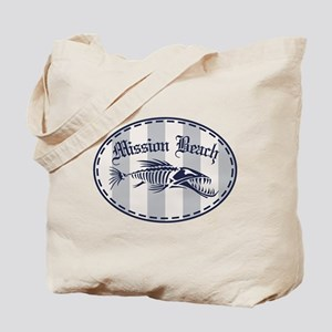 Mission Beach Bonefish Tote Bag