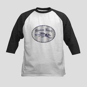 Mission Beach Bonefish Kids Baseball Jersey
