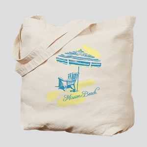 Serenity Mission Beach Tote Bag