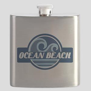 Ocean Beach Surfer Pride Flask