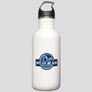 Ocean Beach Surfer Pride Stainless Water Bottle 1.