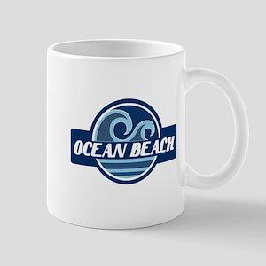 Ocean Beach Surfer Pride Mug
