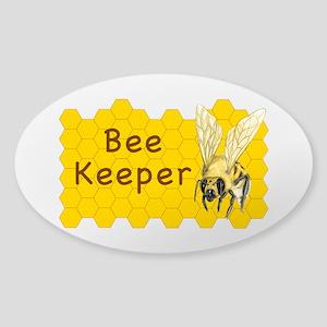 Bee Keeper ~ Sticker (oval)