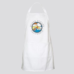 Silver Strand Wave Badge Apron