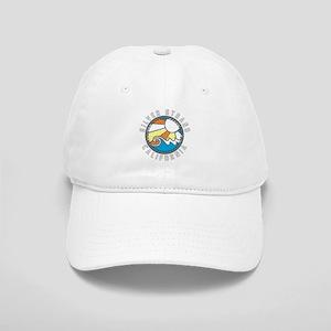 Silver Strand Wave Badge Cap