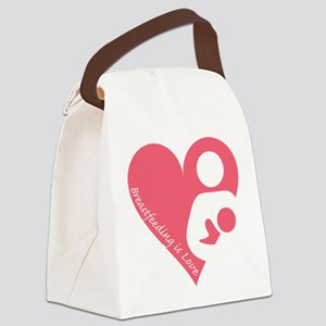 Breastfeeding is Love Canvas Lunch Bag