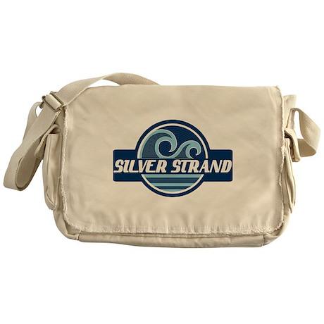 Silver Strand Surfer Pride Messenger Bag
