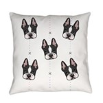 Boston Pattern Everyday Pillow