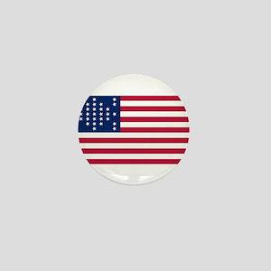 USA - 33 Stars - Ft Sumter Mini Button