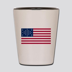 USA - 33 Stars - Ft Sumter Shot Glass