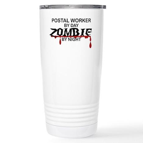 Postal Worker Zombie Stainless Steel Travel Mug