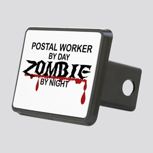 Postal Worker Zombie Rectangular Hitch Cover
