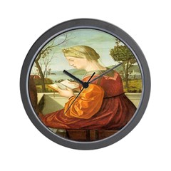The Lady Reading Wall Clock