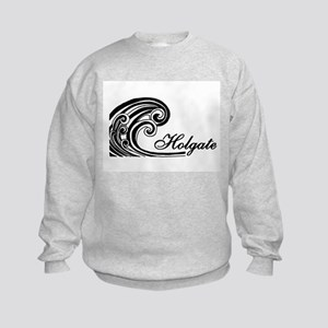 Waves Over Holgate Kids Sweatshirt