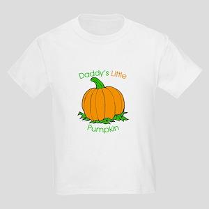 Daddy's Little Pumpkin Kids T-Shirt