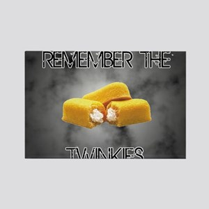 Remember The Twinkies Rectangle Magnet