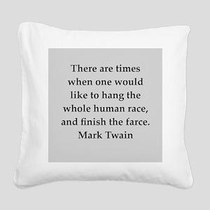 174 Square Canvas Pillow