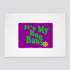 Its My Bag Baby 5'x7'Area Rug