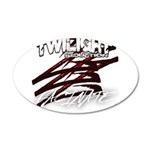 Twilight 2012 20x12 Oval Wall Decal