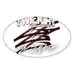 Twilight 2012 Sticker (Oval 10 pk)