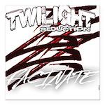 Twilight 2012 Square Car Magnet 3