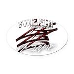 Twilight 2012 Oval Car Magnet