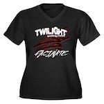 Twilight 2012 Women's Plus Size V-Neck Dark T-Shir