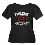 Twilight 2012 Women's Plus Size Scoop Neck Dark T-
