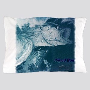 Striped Bass Wild Style lg Pillow Case