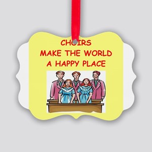 CHOIR Picture Ornament