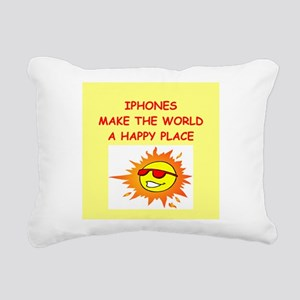IPHONES Rectangular Canvas Pillow
