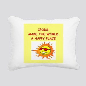 IPADS Rectangular Canvas Pillow
