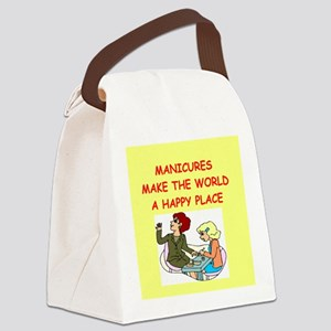 MANICURIST Canvas Lunch Bag