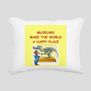 MUSEUM1 Rectangular Canvas Pillow