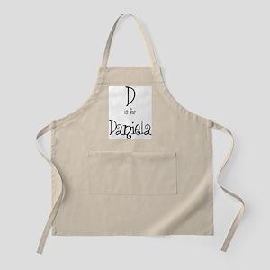 D Is For Daniela BBQ Apron