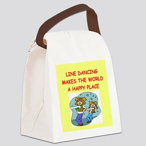LINE Canvas Lunch Bag