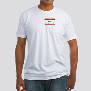 My Name Is Death Fitted T-Shirt