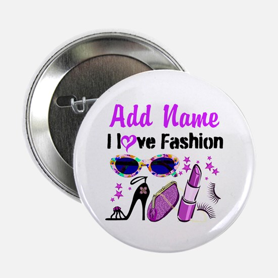"FASHION QUEEN 2.25"" Button"