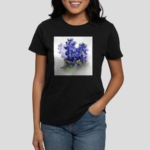 Bluebonnet Spray Ash Grey T-Shirt
