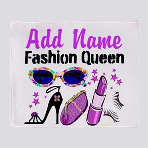 FASHION QUEEN Throw Blanket