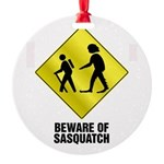 Sasquatch.png Round Ornament