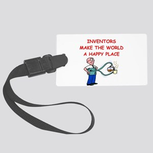 INVENTOR Large Luggage Tag