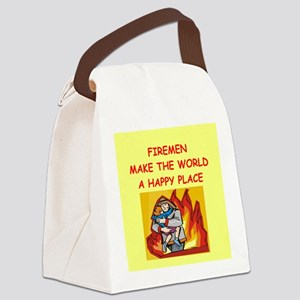 FIRE Canvas Lunch Bag