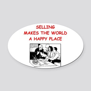 SELLING Oval Car Magnet