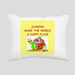 CLOWNS Rectangular Canvas Pillow
